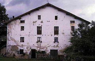 Antonio Arrúe Zarauz - Arrúe's family house, Asteasu