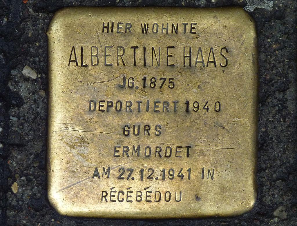 Albertine Haas-Stolperstein.jpg