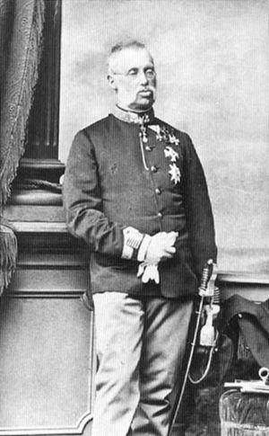 Archduke Albrecht, Duke of Teschen - Image: Albrecht Austria Teschen 1817 1895 marshal