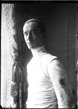 Aldo Nadi - Nadi in 1922
