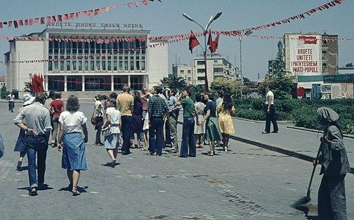 Aleksandër Moisiu Theatre Durrës 1978