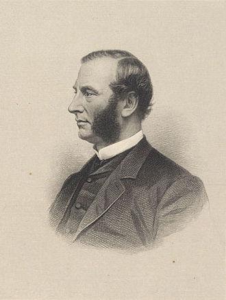 Alexander Bullock - Engraved portrait, date unknown