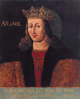 Alexander Jagiellon - Image: Alexander von Polen