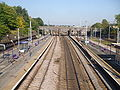 Alexandra Palace stn high northbound.JPG