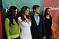 Alexandra Park, Elizabeth Hurley, William Moseley & Merritt Patterson 2015 TCA Press Tour.jpg