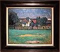 Alexej von jawlensky, Paesaggio di Wasserburg (baviera) con case e prato, 1907.jpg