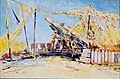 Alfred Theodore Joseph Bastien - ONE OF OUR GUNS READY, AGNY (CWM 19710261-0070).jpg