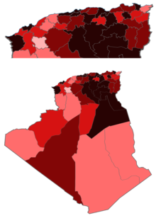 Algeria Coronavirus cases by province.png