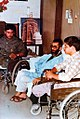 Ali Khamenei in Baharloo Hospital after Assassination Attempt.jpg