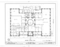 Aliiolani Hale, 463 King Street, Honolulu, Honolulu County, HI HABS HI,2-HONLU,3- (sheet 3 of 12).png
