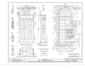 All Saint's Church, 286-290 Henry Street, New York, New York County, NY HABS NY,31-NEYO,14- (sheet 9 of 10).png