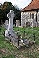 All Saints, Birchington. Kent - Grave of Dante Gabriel Rossetti - geograph.org.uk - 1547494.jpg