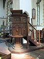 All Saints Church, Dickleburgh, Norfolk - Pulpit - geograph.org.uk - 814568.jpg