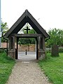All Saints Church - lych gate - geograph.org.uk - 1285042.jpg