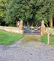 All Saints Church gate, Rise - geograph.org.uk - 1427048.jpg