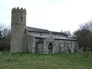 All Saints and St Nicholas, South Elmham - The church of All Saints near to the village of All Saints South Elmham