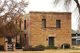 Allen County, Kansas - Image: Allen County Jail, Iola