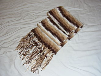 Alpaca fiber - Alpaca scarf. Cambridge Food, Garden and Produce Festival, England