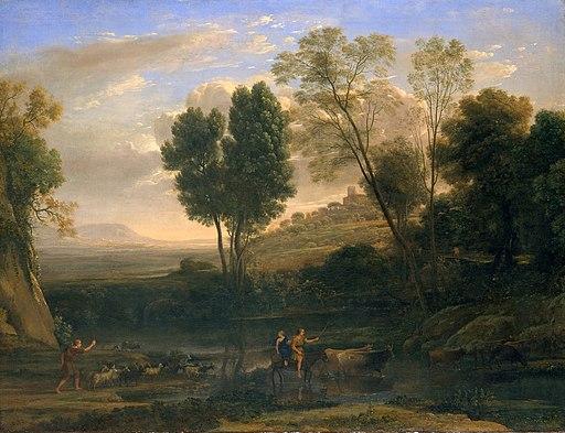Amanecer, 1646–47, Claude Lorrain