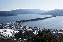 Amanohashidate view from Kasamatsu Park01s3s4410.jpg