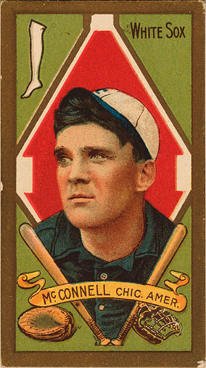 Amby McConnell - McConnell's 1911 baseball card