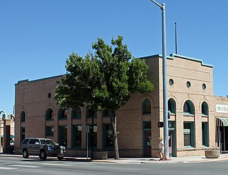 American National Bank Building (Alamosa, Colorado) - The building in 2012.