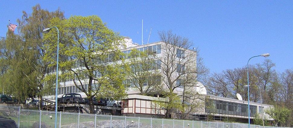 Amerikanska Ambassaden, Stockholm, Sweden.