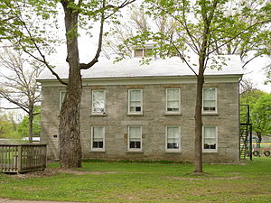 National Register of Historic Places listings in Montgomery County, New York - Image: Ames Academy Building May 10