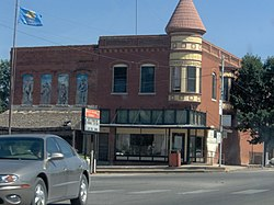 Amphlett Brothers Drug and Jewelry Store in Apache