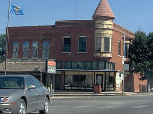 National Register of Historic Places listings in Caddo County, Oklahoma - Image: Amphlett Brothers Drug and Jewelry Store