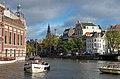 Amstel river, Halvemaanbrug, Amsterdam.jpg