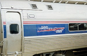Northeast Regional - The NortheastDirect branding was used for most Northeast Regional services between 1995 and 2003