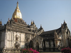 Kyansittha - The Ananda Temple, Pagan (Bagan)