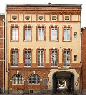 Catholic University of Toulouse - Institut Catholique de Toulouse, Entrance at rue de la Fonderie