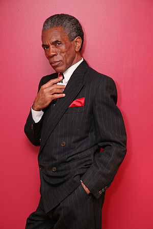 André De Shields - André De Shields at home in New York on February 11, 2009