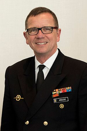 Andreas Krause (admiral) - Krause in 2017