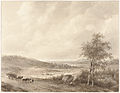 Andreas Schelfhout - Landschap tussen Calais en Boulogne.jpg