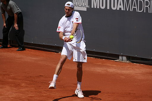 Andreas Seppi at the 2009 Mutua Madrileña Madrid Open 02