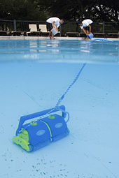 What element is used to disinfect swimming pools?