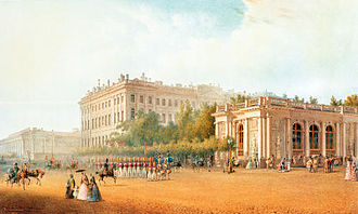 Maria Feodorovna (Dagmar of Denmark) - The Anichkov Palace in 1862