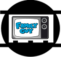Animation disc Family Guy television set.svg