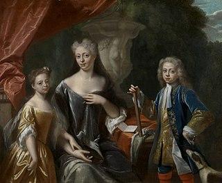 Princess Amalia of Nassau-Dietz Countess of Nassau-Dietz by birth, Margravine of Baden-Durlach by marriage