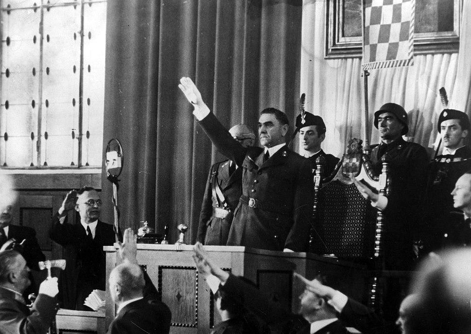 Ante Pavelic Parlament