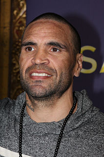 Anthony Mundine Australian boxer, rugby league player and rapper