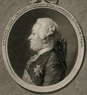 Antoine-Jean Amelot de Chaillou - A.J. Amelot