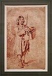 Antoine watteau, giovane savoiardo con oboe e marmotta su una cesta, 1715 ca. (petit palais, parigi).jpg
