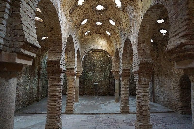 Arab Baths in Ronda Spain (18535883696).jpg