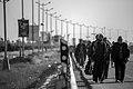 Arba'een In Mehran City 2016 - Iran (Black And White Photography-Mostafa Meraji) اربعین در مهران- ایران- عکس های سیاه و سفید 41.jpg