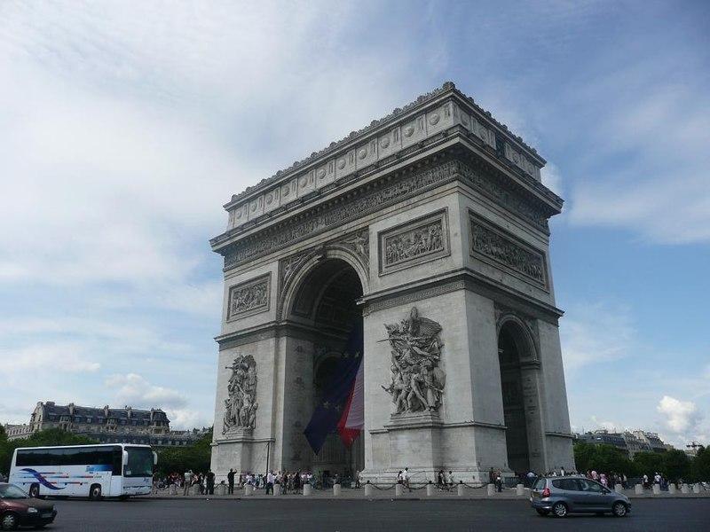 Arco de Triunfo de París (año 1806)