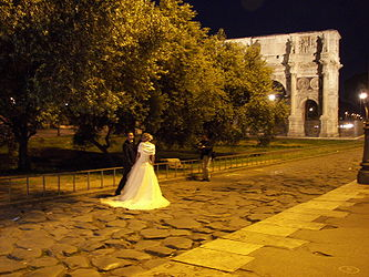 Arch of Constantine newlyweds.jpg